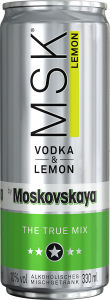 MSK Vodka & Lemon